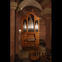 Strasbourg (Straßburg), Cathédrale Notre-Dame - Münster (Hauptorgel), Krypta-Orgel