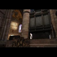 Strasbourg (Straßburg), Cathédrale Notre-Dame - Münster (Kapellenorgel), Chororgel im Chorraum