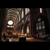 Strasbourg (Straßburg), Cathédrale Notre-Dame - Münster (Kapellenorgel), Chororgel und Hauptorgel
