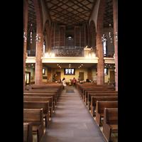 Frankfurt am Main, Liebfrauenkirche, Orgelempore