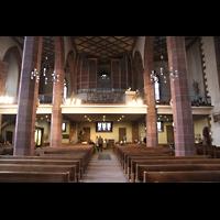 Frankfurt am Main, Liebfrauenkirche, Innenraum in Richtung Chor