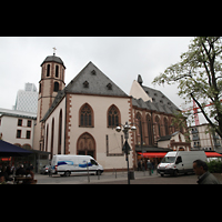 Frankfurt am Main, Liebfrauenkirche, Außenansicht