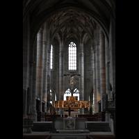 Schwäbisch Hall, Stadtpfarrkirche St. Michael (Hauptorgel), Chor