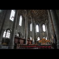 Schwäbisch Hall, Stadtpfarrkirche St. Michael (Hauptorgel), Chorraum