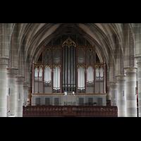 Schwäbisch Hall, Stadtpfarrkirche St. Michael (Hauptorgel), Große Orgel