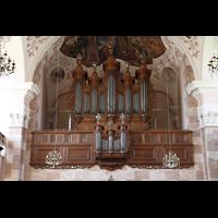 Ebersmunster (Ebersmünster), Église Abbatiale (Abteikirche), Orgelempore