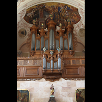 Ebersmunster (Ebersmünster), Église Abbatiale (Abteikirche), Silbermann-Orgel
