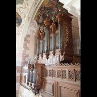 Ebersmunster (Ebersmünster), Église Abbatiale (Abteikirche), Orgel seitlich