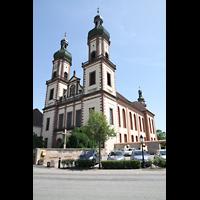 Ebersmunster (Ebersmünster), Église Abbatiale (Abteikirche), Außenansicht