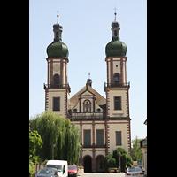 Ebersmunster (Ebersmünster), Église Abbatiale (Abteikirche), Doppelturmfassade