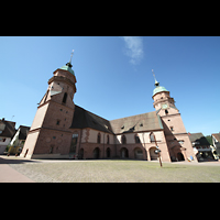 Freudenstadt, Evangelische Stadtkirche (Chororgel), Gesamtansicht von außen