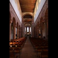 Alpirsbach, Klosterkirche, Innenraum in Richtung Chor