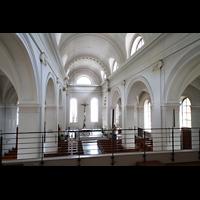 Schramberg (Schwarzwald), St. Maria, Chorraum von der Orgelempore aus gesehen