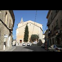 Campanet (Mallorca), Sant Miquel, Außenansicht von Südosten