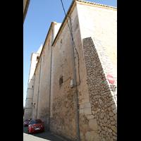 Campanet (Mallorca), Sant Miquel, Südseite von außen