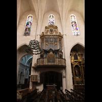 Muro (Mallorca), Sant Joan Baptiste, Orgelempore
