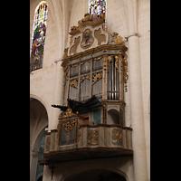 Muro (Mallorca), Sant Joan Baptiste, Orgel seitlich