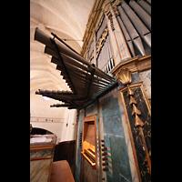 Muro (Mallorca), Sant Joan Baptiste, Orgel mit Spieltisch
