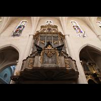Muro (Mallorca), Sant Joan Baptiste, Orgel perspektivisch
