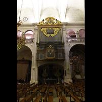 Sa Pobla (Mallorca), Sant Antoni Abat, Seitenschiff mit Orgel