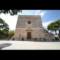Sa Pobla (Mallorca), Sant Antoni Abat, Fassade