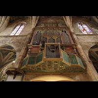 Petra (Mallorca), Sant Pere, Orgel perspektivisch