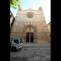 Palma de Mallorca, Sant Nicolau, Fassade