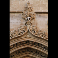 Palma de Mallorca, Sant Nicolau, Fassadendetail