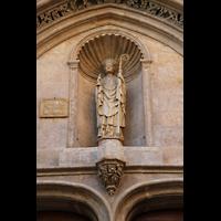 Palma de Mallorca, Sant Nicolau, Statue von San Nicolas