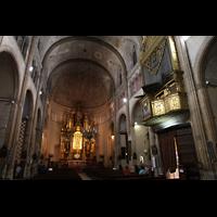 Palma de Mallorca, Sant Nicolau, Innenraum in Richtung Chor