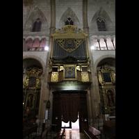 Palma de Mallorca, Sant Nicolau, Orgel und Seitenschiff