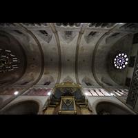 Palma de Mallorca, Sant Nicolau, Gewölbe mit Orgel