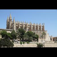 Palma de Mallorca, Catedral La Seu, Außenansicht