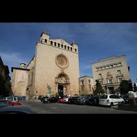 Palma de Mallorca, Convento Sant Francesc, Außenansicht vom Plaça de Sant Francesc
