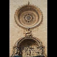 Palma de Mallorca, Convento Sant Francesc, Fasaden-Detail