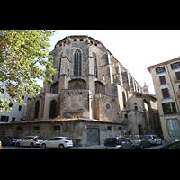 Palma de Mallorca, Convento Sant Francesc, Außenansicht auf den Chor