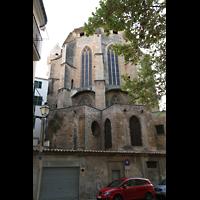 Palma de Mallorca, Convento Sant Francesc, Chor von außen