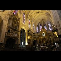 Palma de Mallorca, Convento Sant Francesc, Orgel und Chorraum