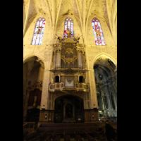 Palma de Mallorca, Convento Sant Francesc, Orgel am Seitenschiff