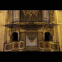 Palma de Mallorca, Convento Sant Francesc, Chamaden und Prospektdetail