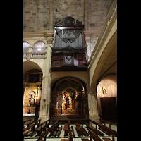 Palma (Mallorca), Sant Agusti / Iglesia de Ntra. Sra. del Socorro, Orgel mit Seitenschiff