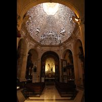 Palma (Mallorca), Sant Agusti / Iglesia de Ntra. Sra. del Socorro, Kapelle von San Nícolas de Tolentino mit barocker Kuppel