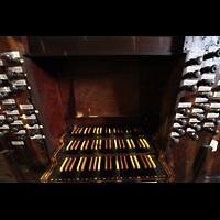 Palma (Mallorca), Sant Agusti / Iglesia de Ntra. Sra. del Socorro, Spieltisch von oben