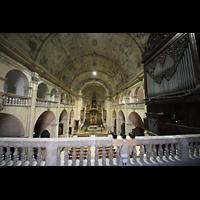 Palma (Mallorca), Sant Agusti / Iglesia de Ntra. Sra. del Socorro, Innenraum in Richtung Chor