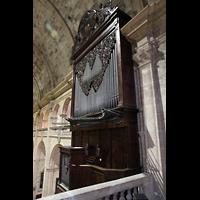 Palma (Mallorca), Sant Agusti / Iglesia de Ntra. Sra. del Socorro, Orgel von der rückwärtigen Empore aus gesehen