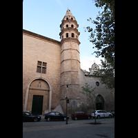Palma (Mallorca), Sant Agusti / Iglesia de Ntra. Sra. del Socorro, Außenansicht mit Turm