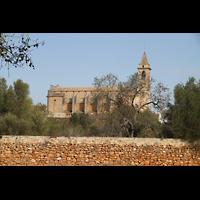 Santanyí (Mallorca), Sant Andreu, Außenansicht vom Stadtrand