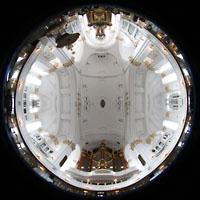 Hamburg, St. Michaelis, ''Michel'' (Krypta-Orgel), Kompletter Innenraum