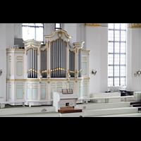 Hamburg, St. Michaelis, ''Michel'' (Krypta-Orgel), Linke Registerstaffel der Hauptorgel