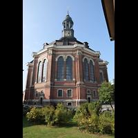 Hamburg, St. Michaelis, ''Michel'' (Krypta-Orgel), Chorraum von außen